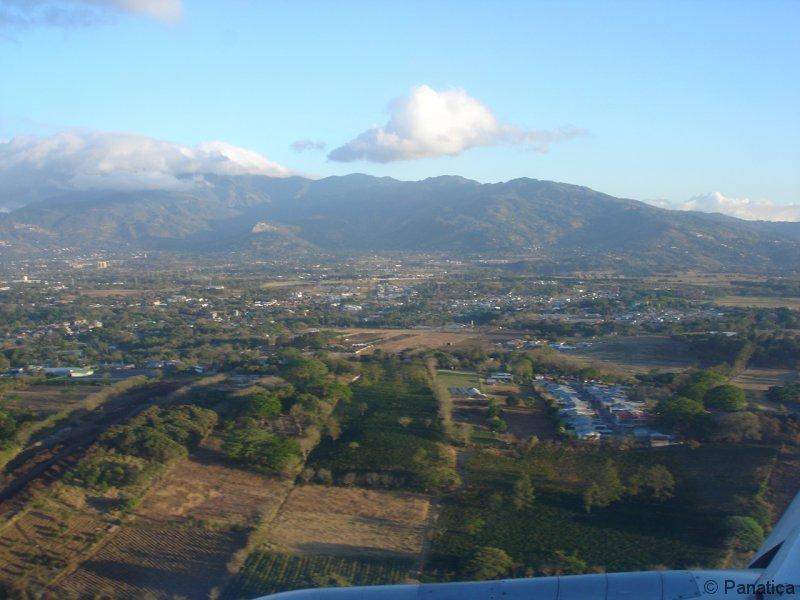 Přílet do Kostariky