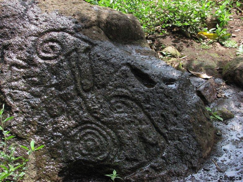 Petroglyf na Ometepe