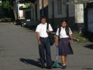 Školáci v Nikaragui